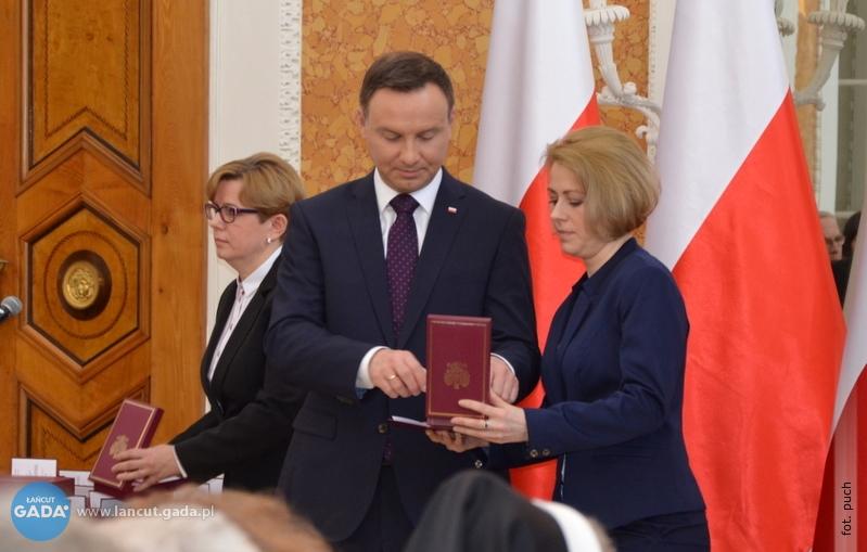 W łańcuckim zamku prezydent odznaczył Polaków ratujących Żydów