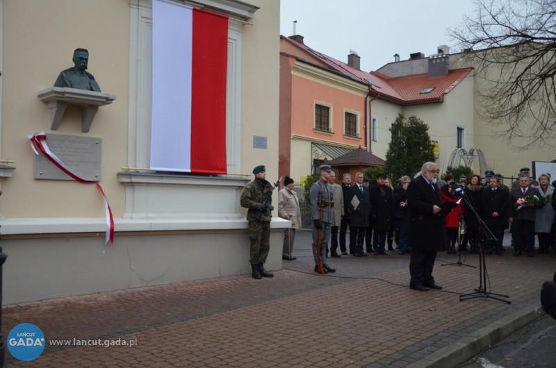 Odsłonięto popiersie Piłsudskiego
