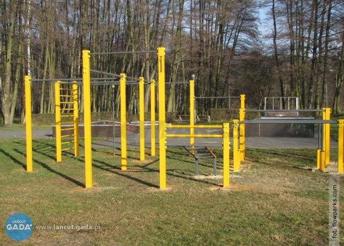 Park do street workoutu wŁańcucie?